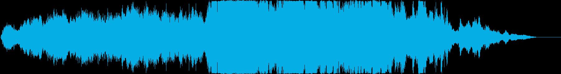 オーケストラによる重厚でダークなアンセ…の再生済みの波形