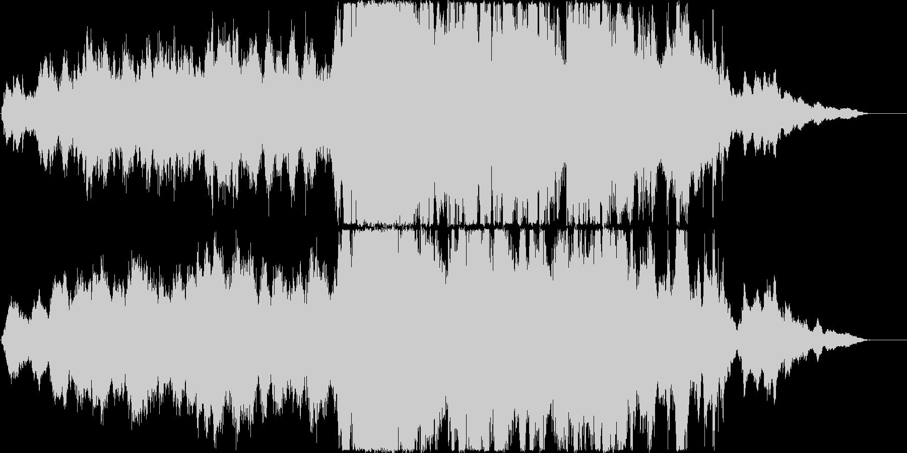 オーケストラによる重厚でダークなアンセ…の未再生の波形