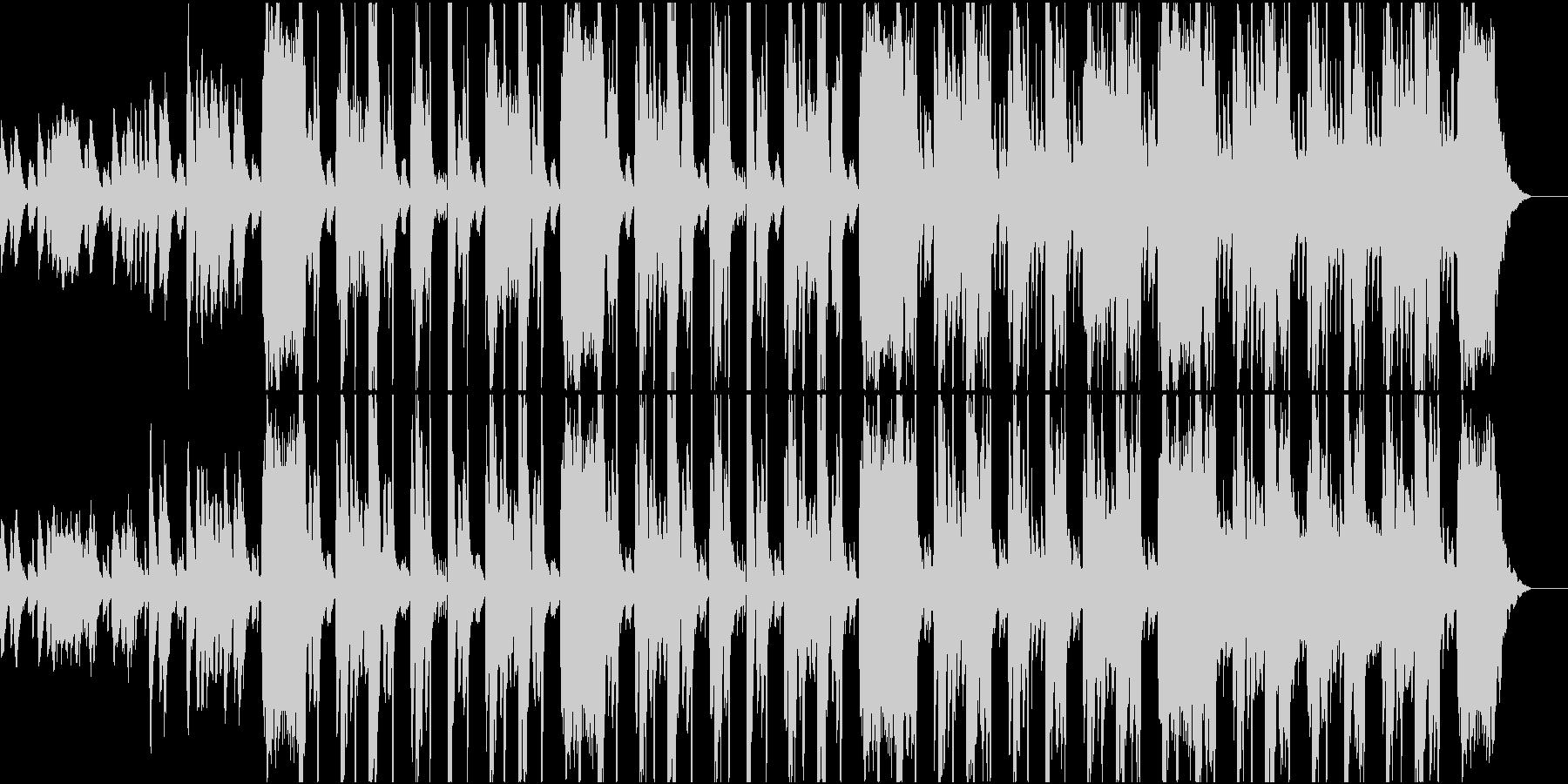 緊迫感のあるヒップホップ ショート版の未再生の波形