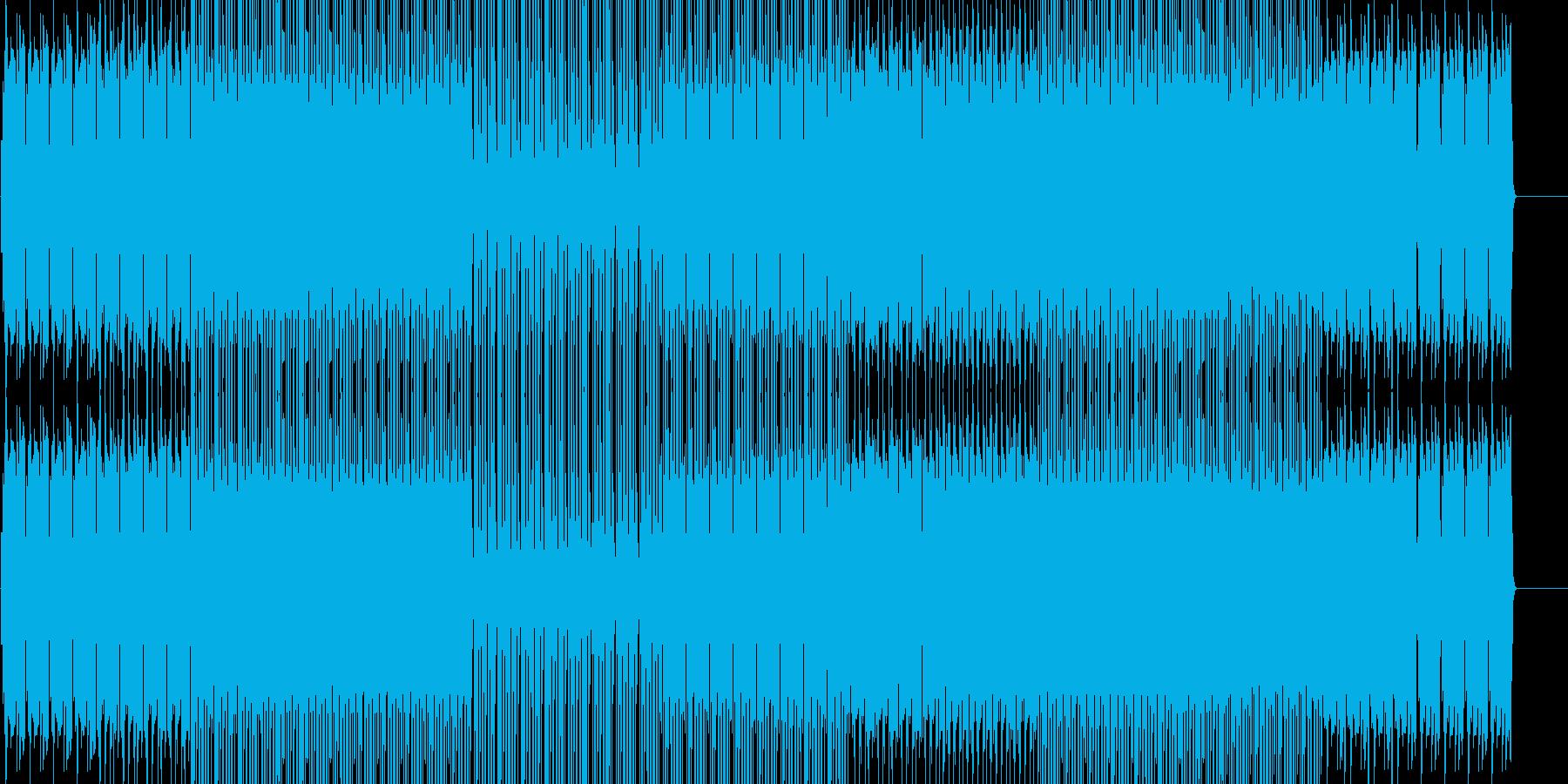 ほのぼのフォークトロニカ  映像 BGMの再生済みの波形
