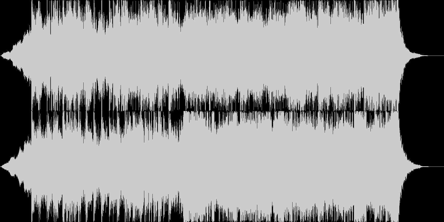 ポップな優しい感じのオーケストラの未再生の波形