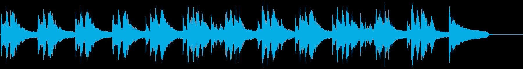 動画広告 30秒 ピッチカート 知的の再生済みの波形