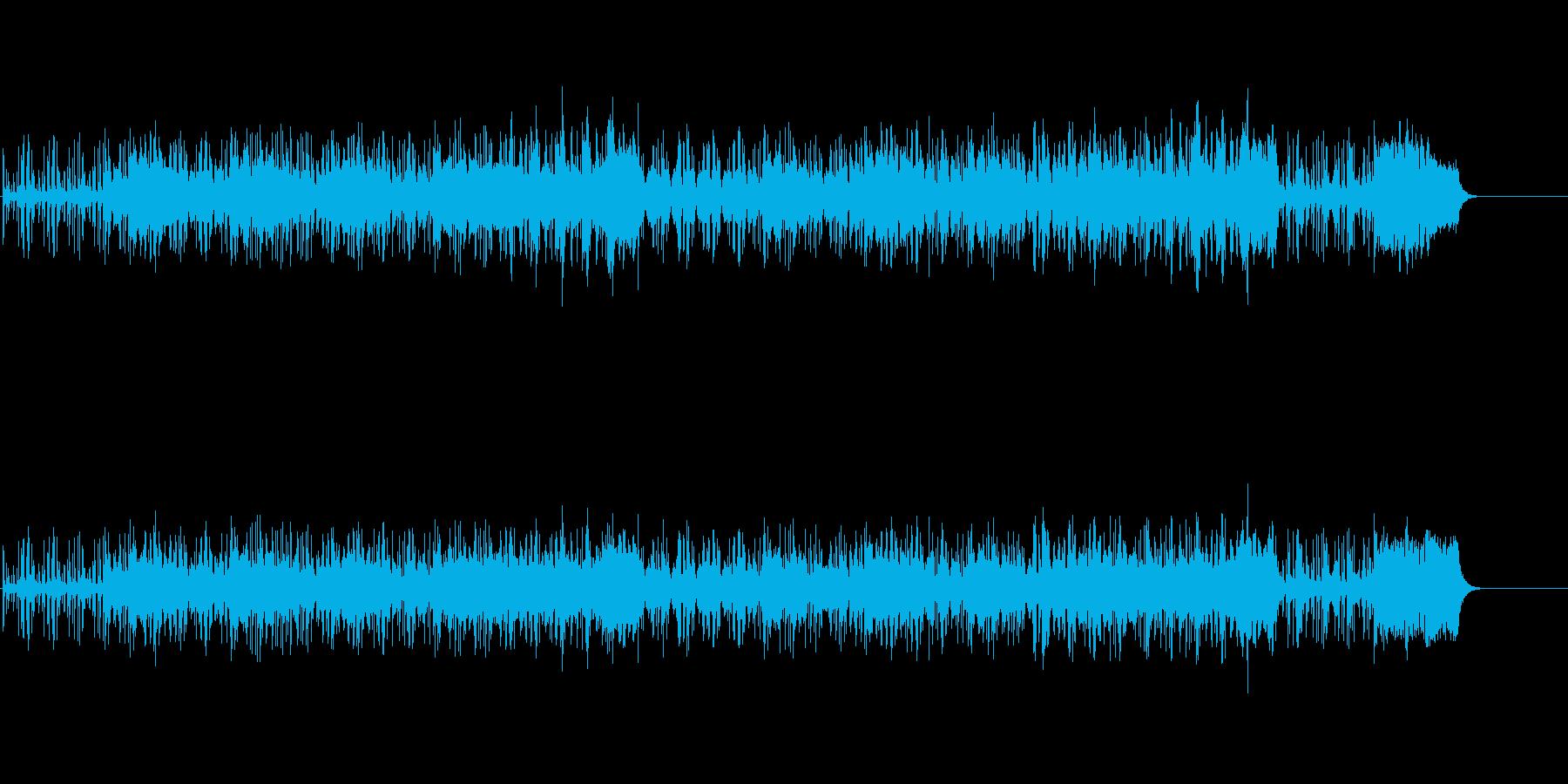 エキゾチックな無国籍風サウンドの再生済みの波形