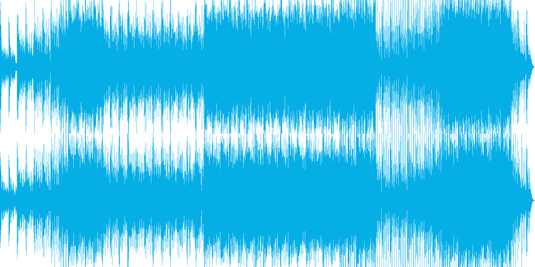 水クリアー企業VP映像用透き通るの再生済みの波形