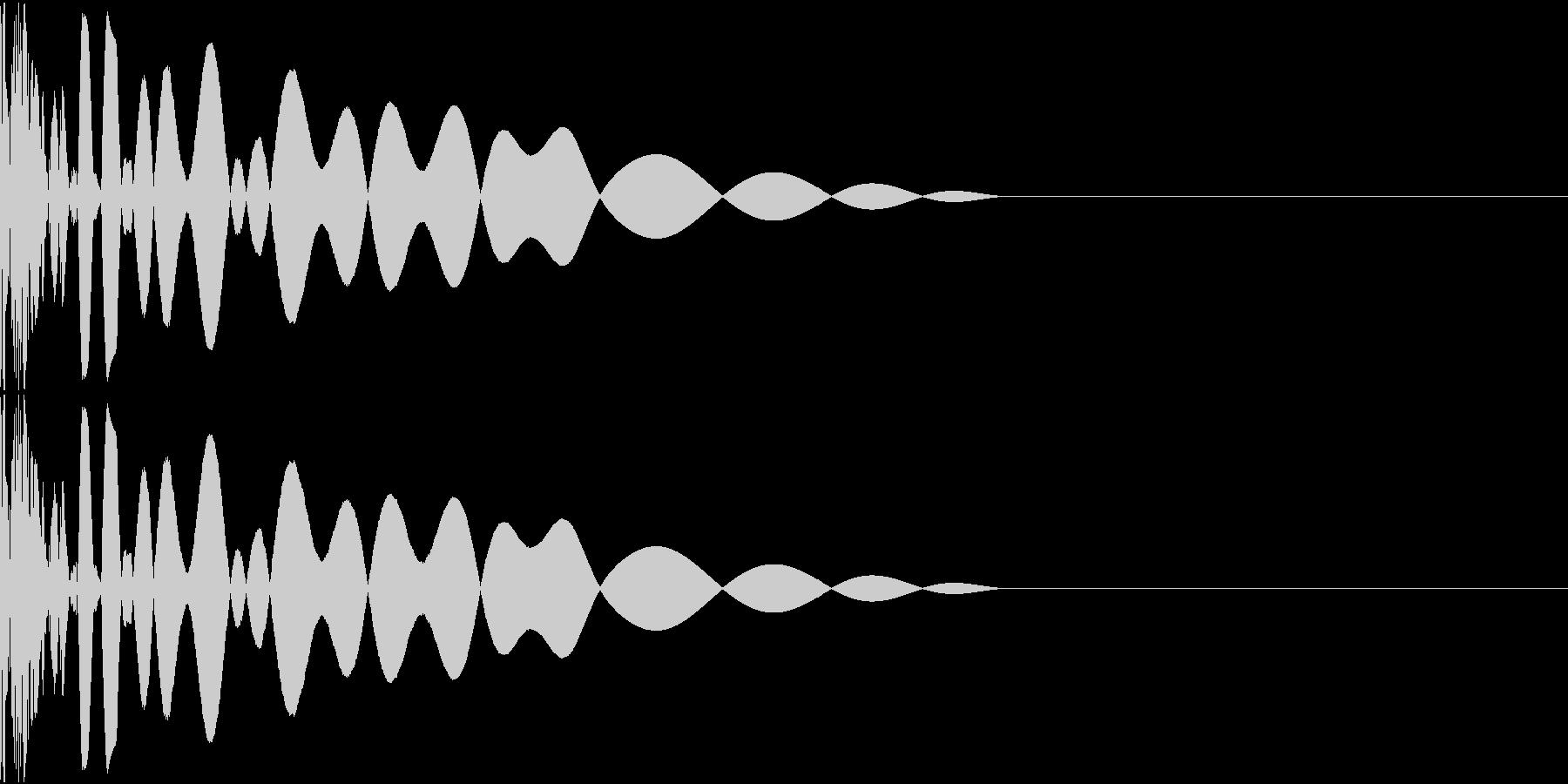 DTM Kick 47 オリジナル音源の未再生の波形