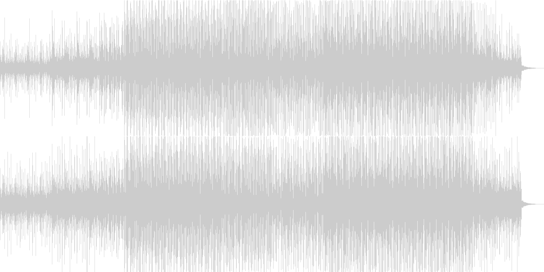 民族音楽的なエスニックダンスPerc楽曲の未再生の波形