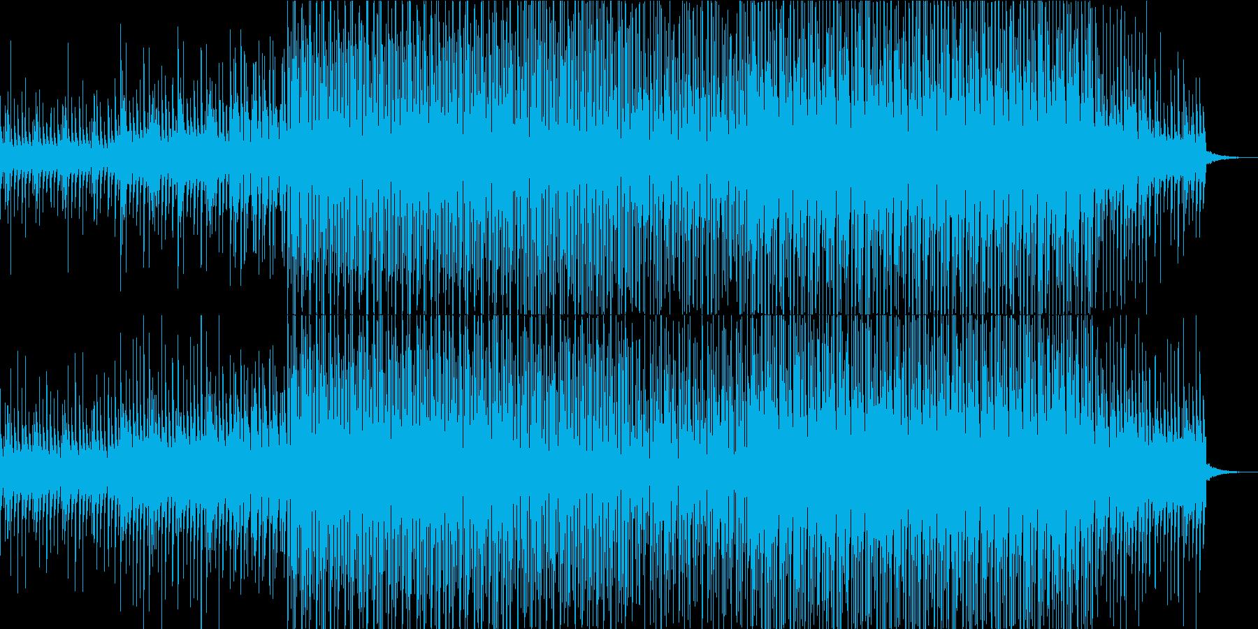 民族音楽的なエスニックダンスPerc楽曲の再生済みの波形