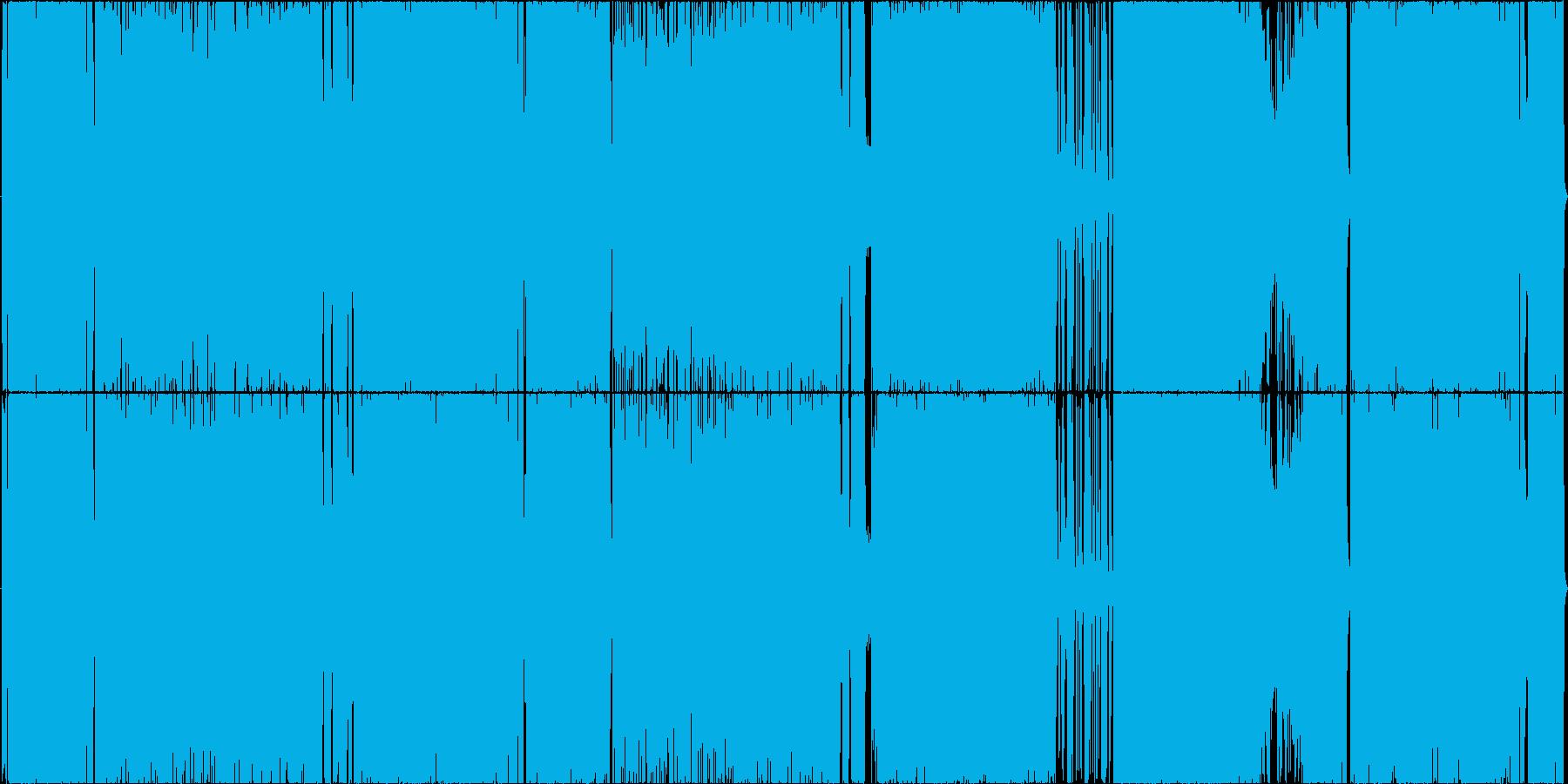 爽やかで前向きなロックの再生済みの波形
