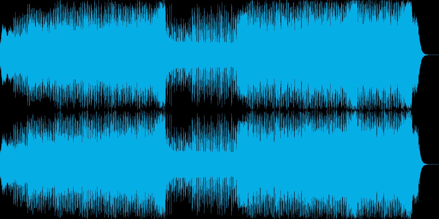 80年代ぽいポップなハウスミュージックの再生済みの波形