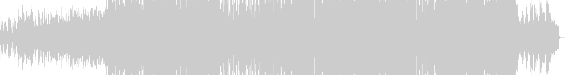 シンセの音色が印象的なかわいいバラードの未再生の波形