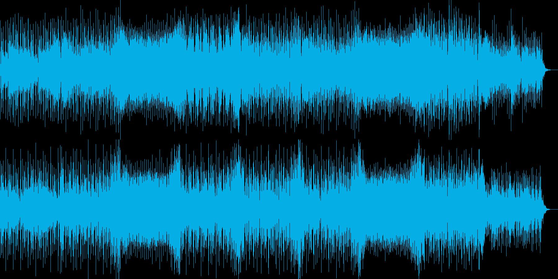 力強いスネアと切ないメロディが印象的な曲の再生済みの波形