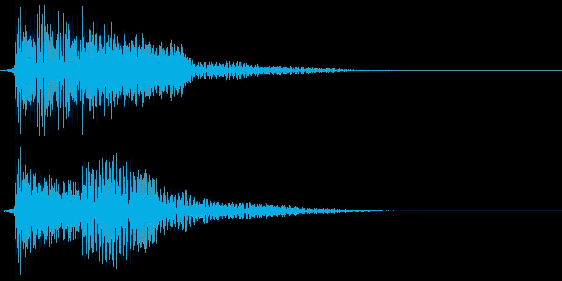 ピコ!の再生済みの波形