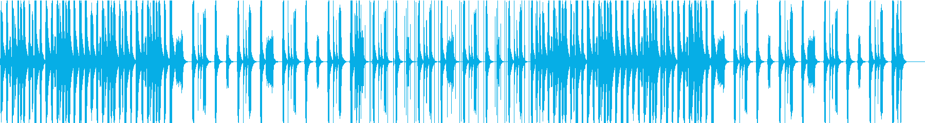ほのぼのと可愛らしいBGMの再生済みの波形