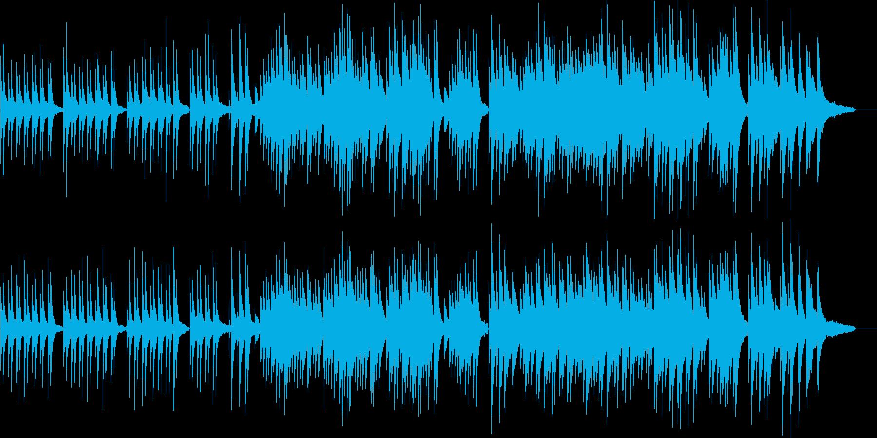 仰げば尊しピアノソロバージョンの再生済みの波形