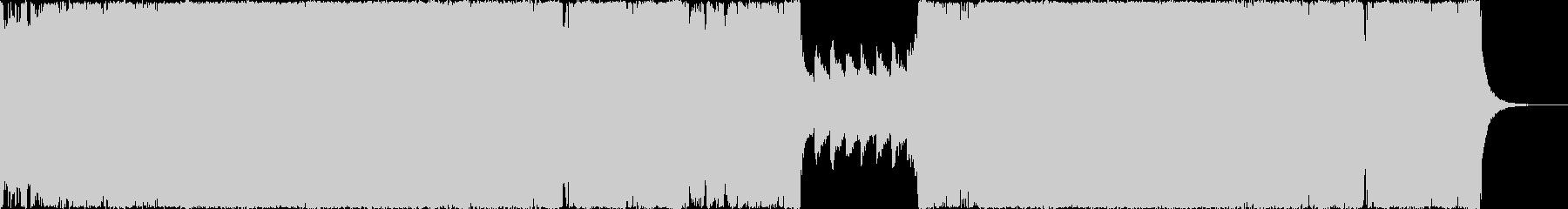 ヘビーメタルとダブステップの融合の未再生の波形