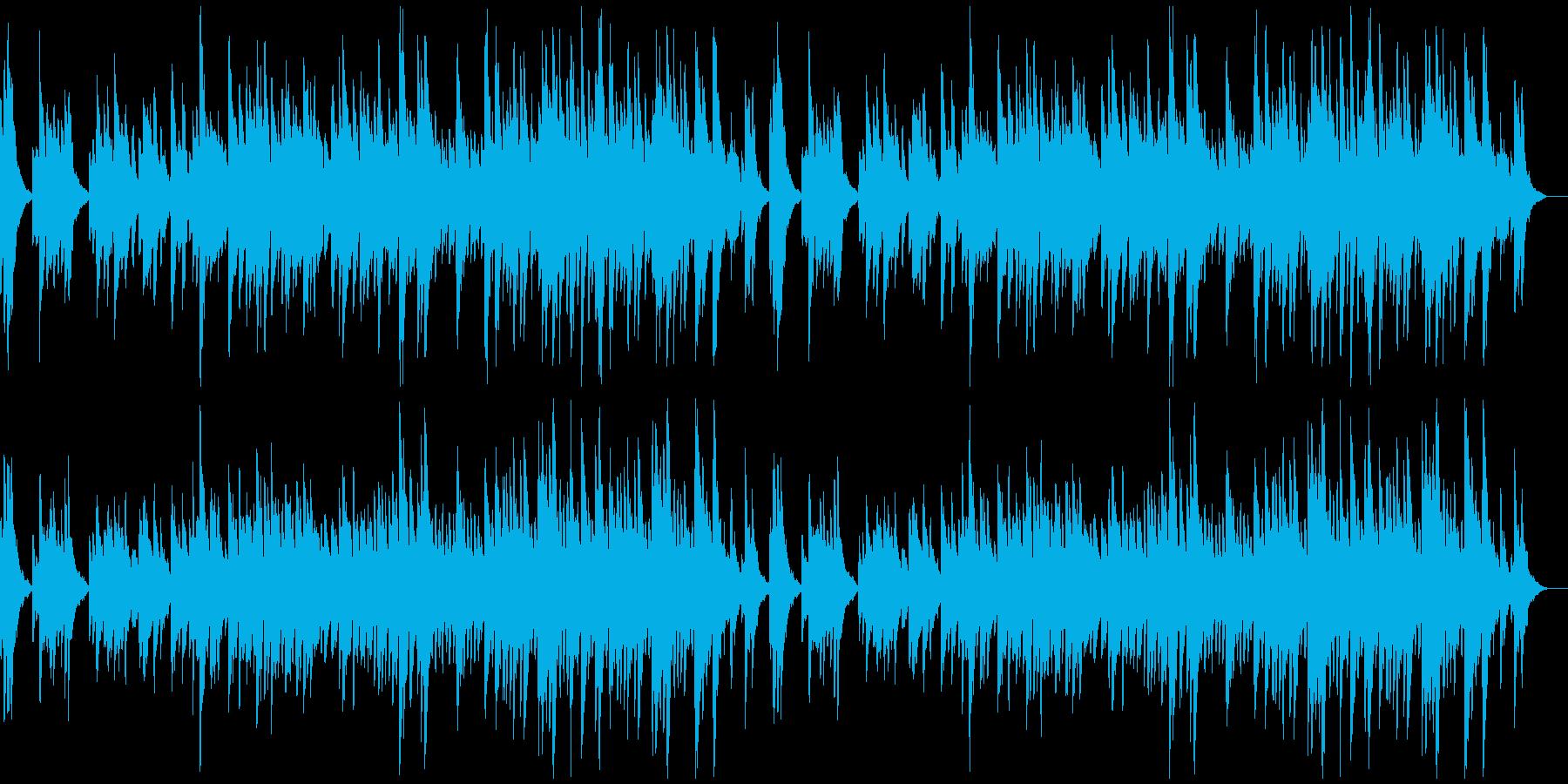 何かを告白するようなソロ・ピアノ曲の再生済みの波形