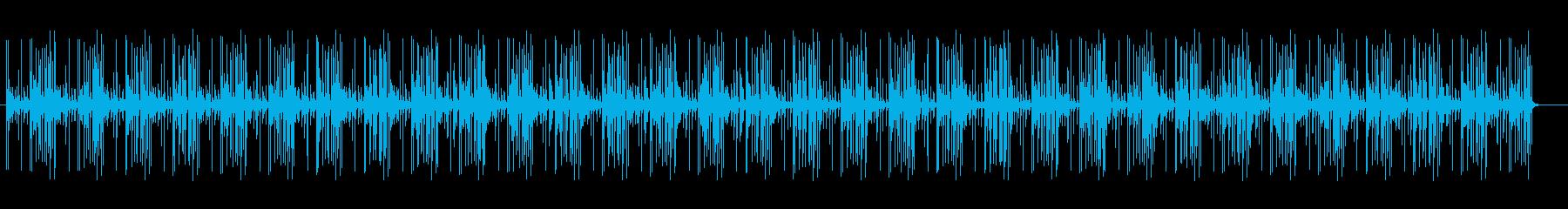 シンプルで幻想的なスピリチュアルサウンドの再生済みの波形