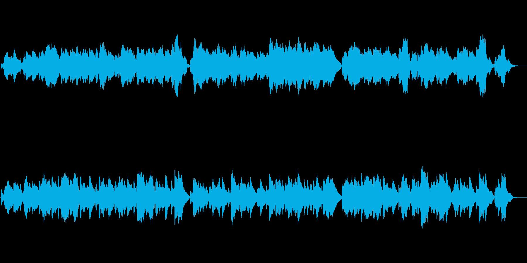 怪しい魔女・魔法をイメージしたオルゴールの再生済みの波形