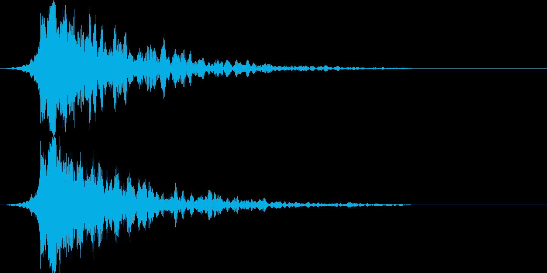 シャキーン!ド派手なインパクトに最適25の再生済みの波形