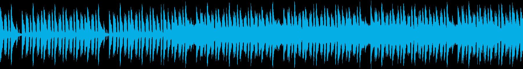 辛くても頑張るみたいな曲(ループ仕様)の再生済みの波形