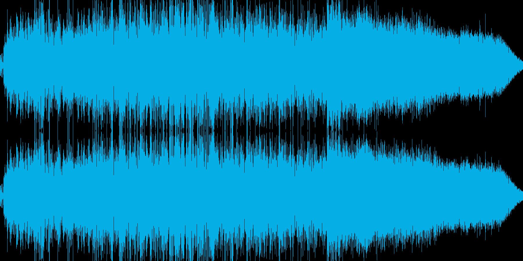 パワーアップ(オーラをまとう)の再生済みの波形
