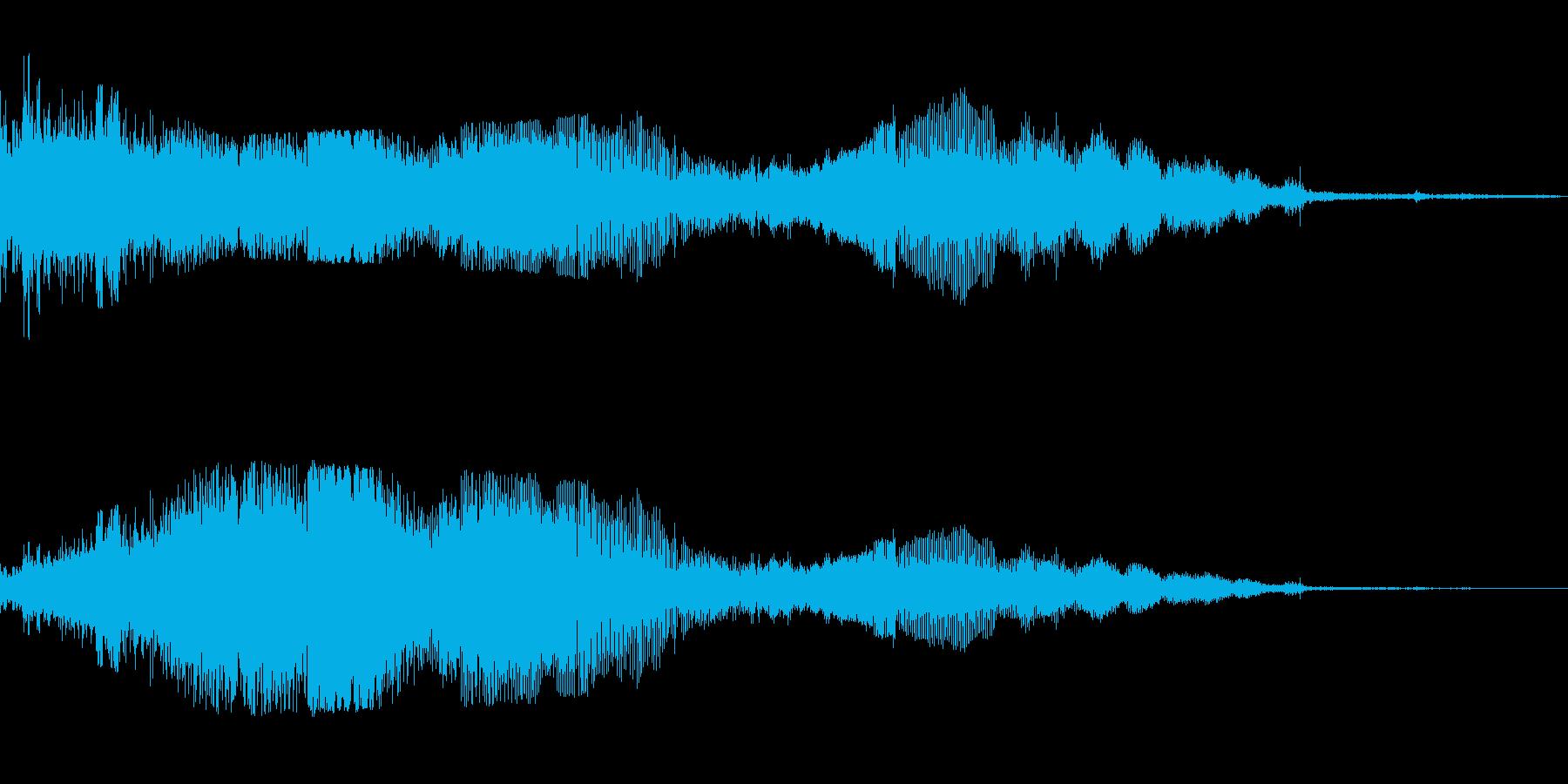 F1などのレース、エンジン効果音43!の再生済みの波形