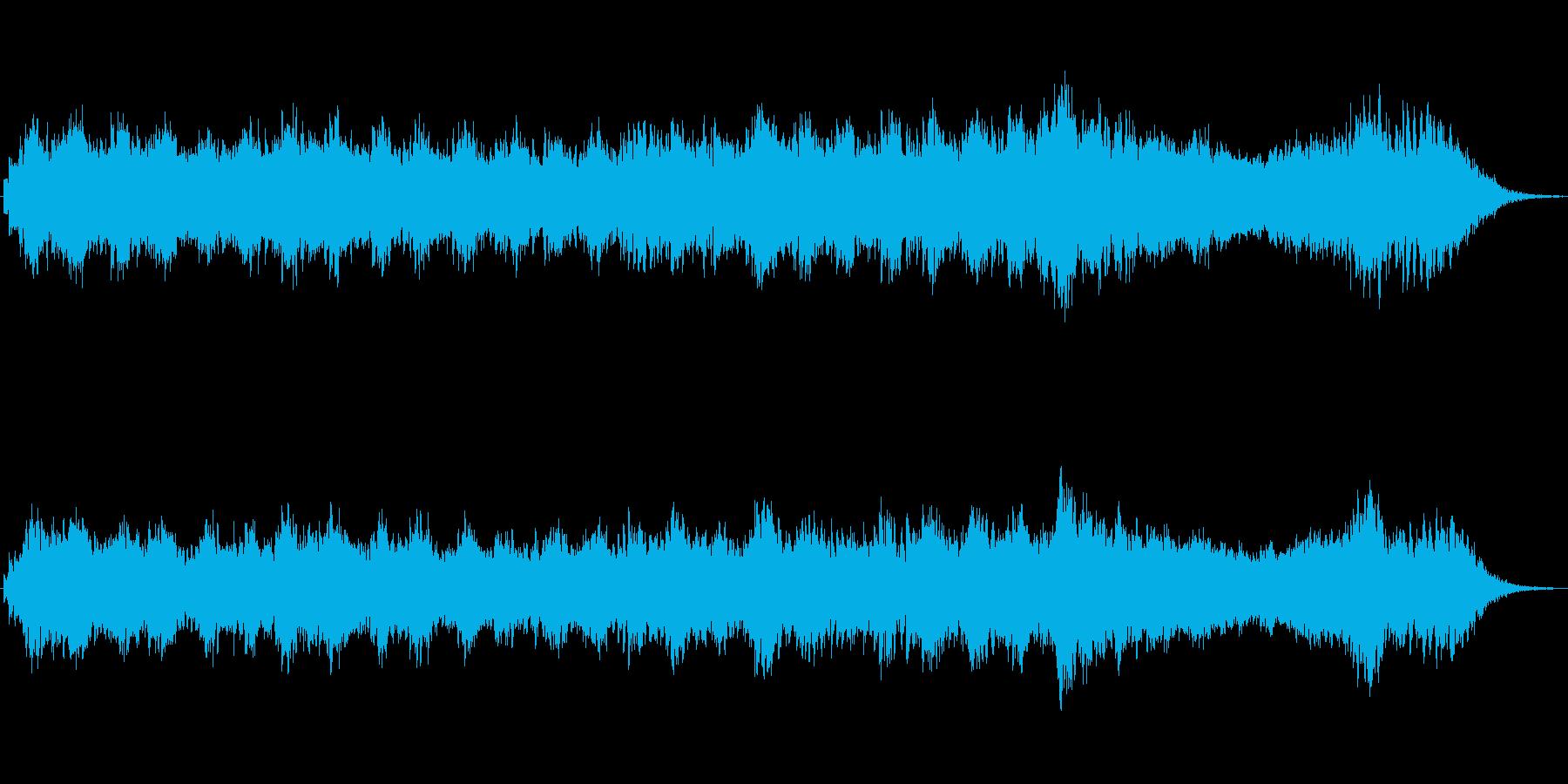 シンセベルによるメルヘンの世界のジングルの再生済みの波形