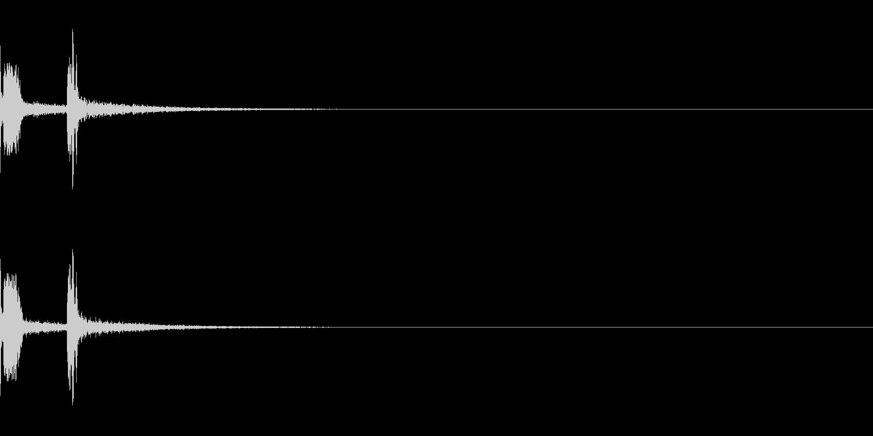 プシュ:炭酸飲料のプルトップを開けるの未再生の波形
