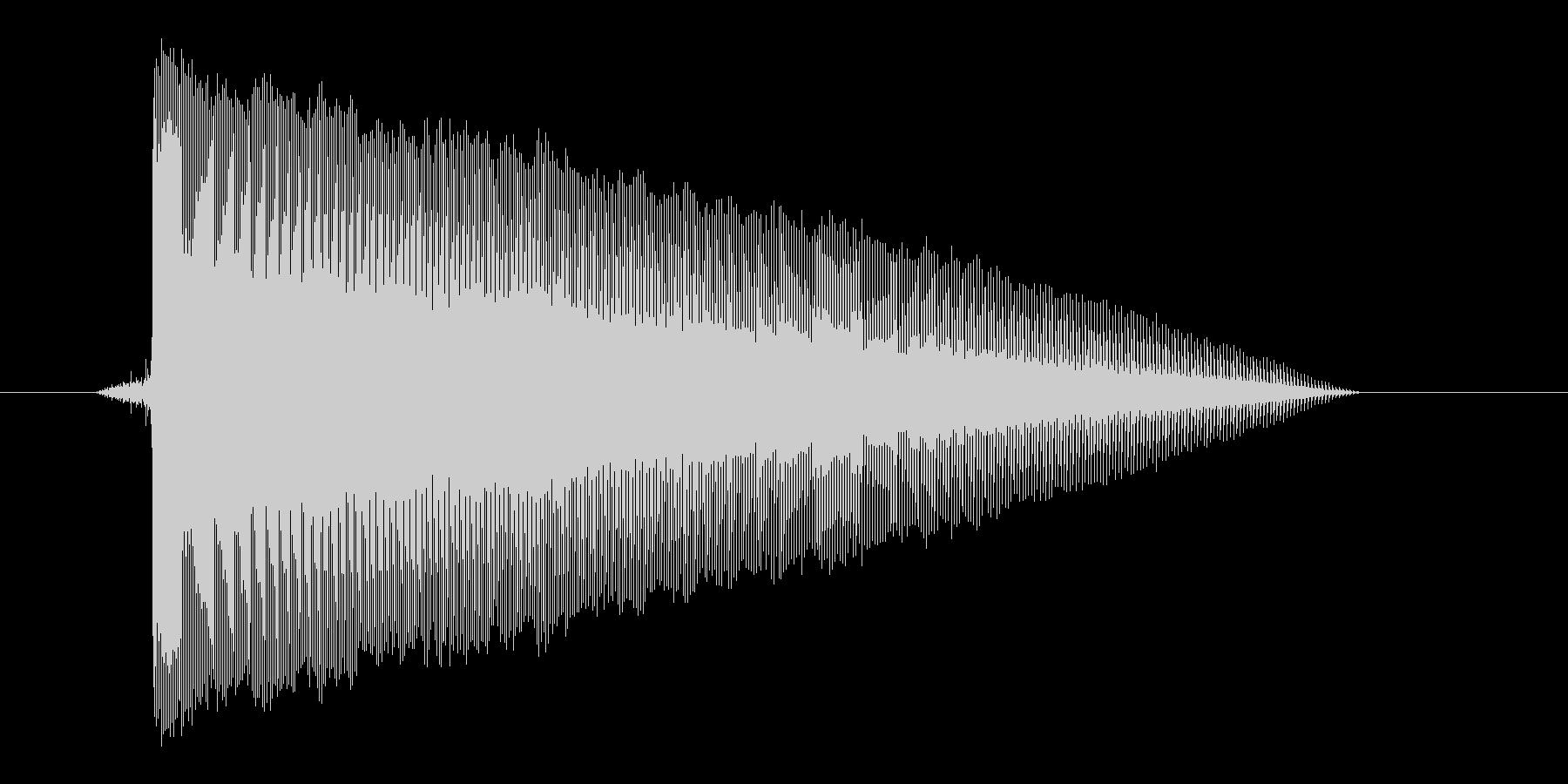 ゲーム(ファミコン風)レーザー音_008の未再生の波形
