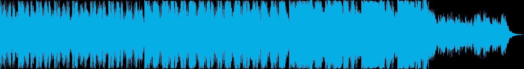 サスペンス映画の一場面をイメージして作…の再生済みの波形