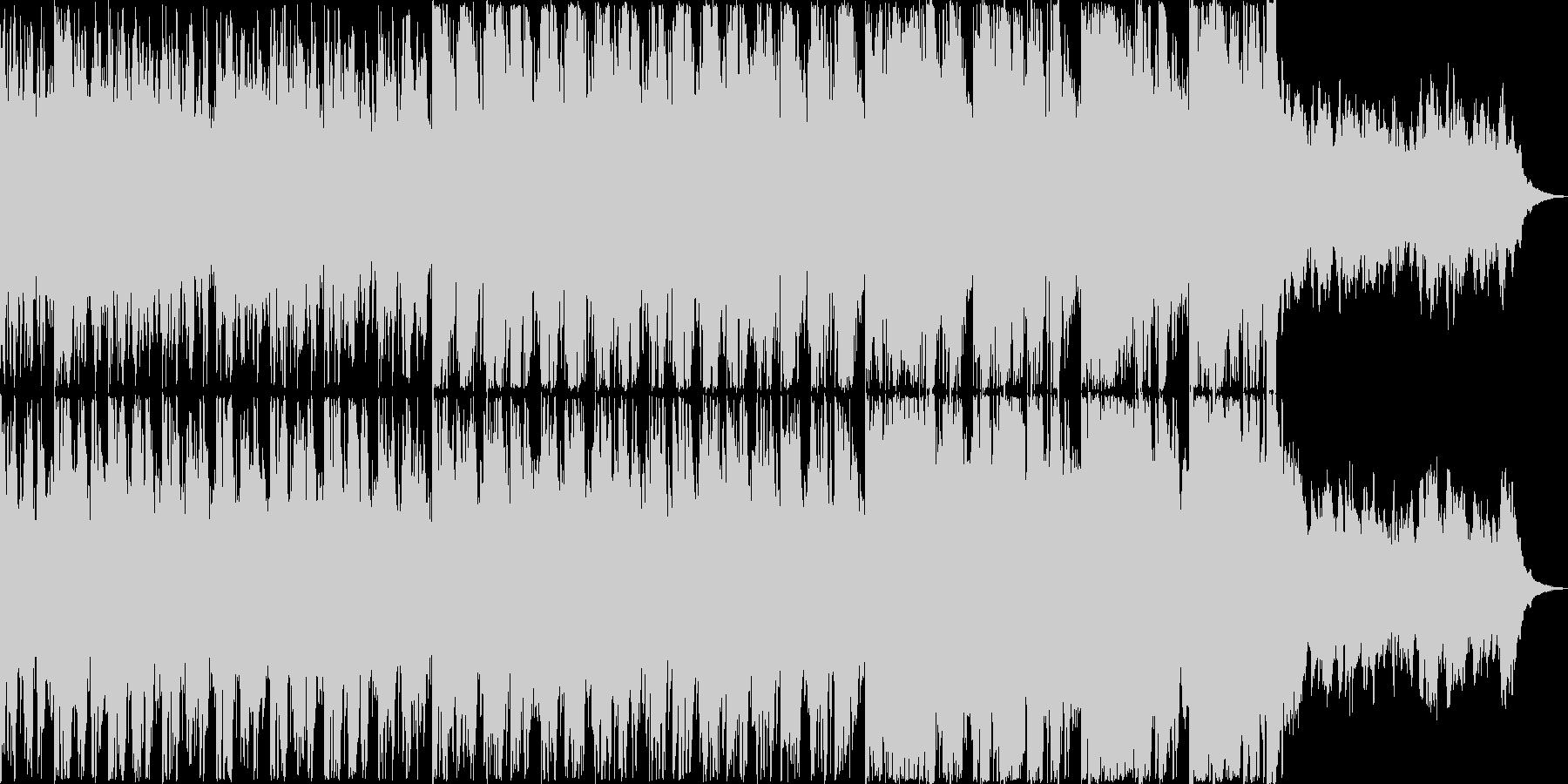 サスペンス映画の一場面をイメージして作…の未再生の波形