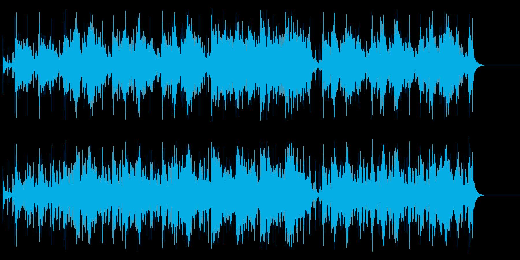エスニカンな、ムードのコーナータイトルの再生済みの波形