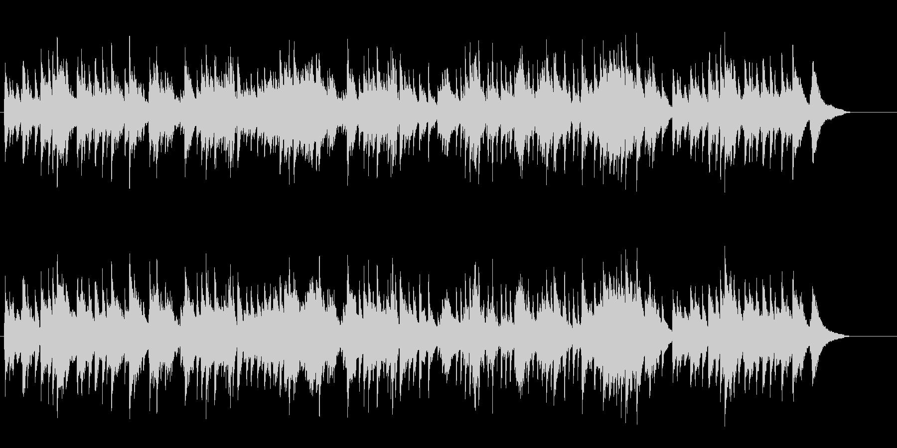 思い出に浸るBG/ピアノソロの未再生の波形