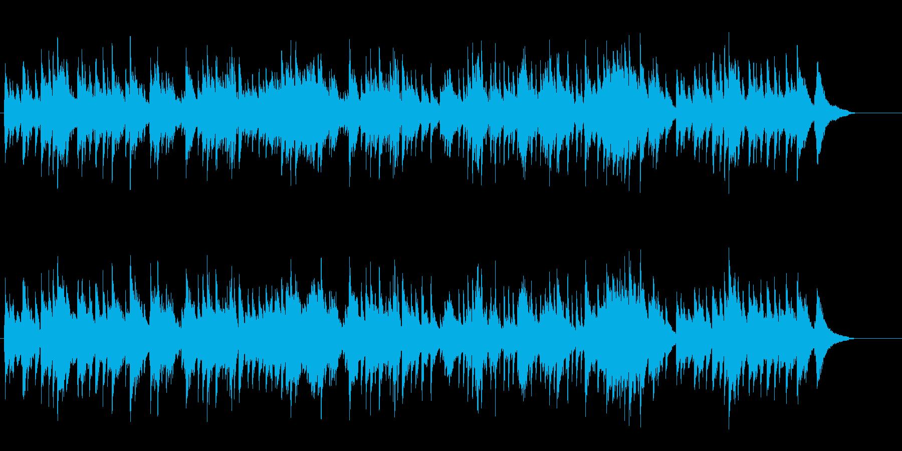 思い出に浸るBG/ピアノソロの再生済みの波形