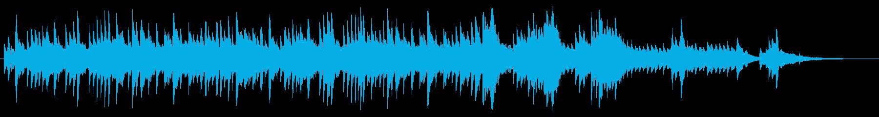 回想シーン【ピアノVer.】の再生済みの波形
