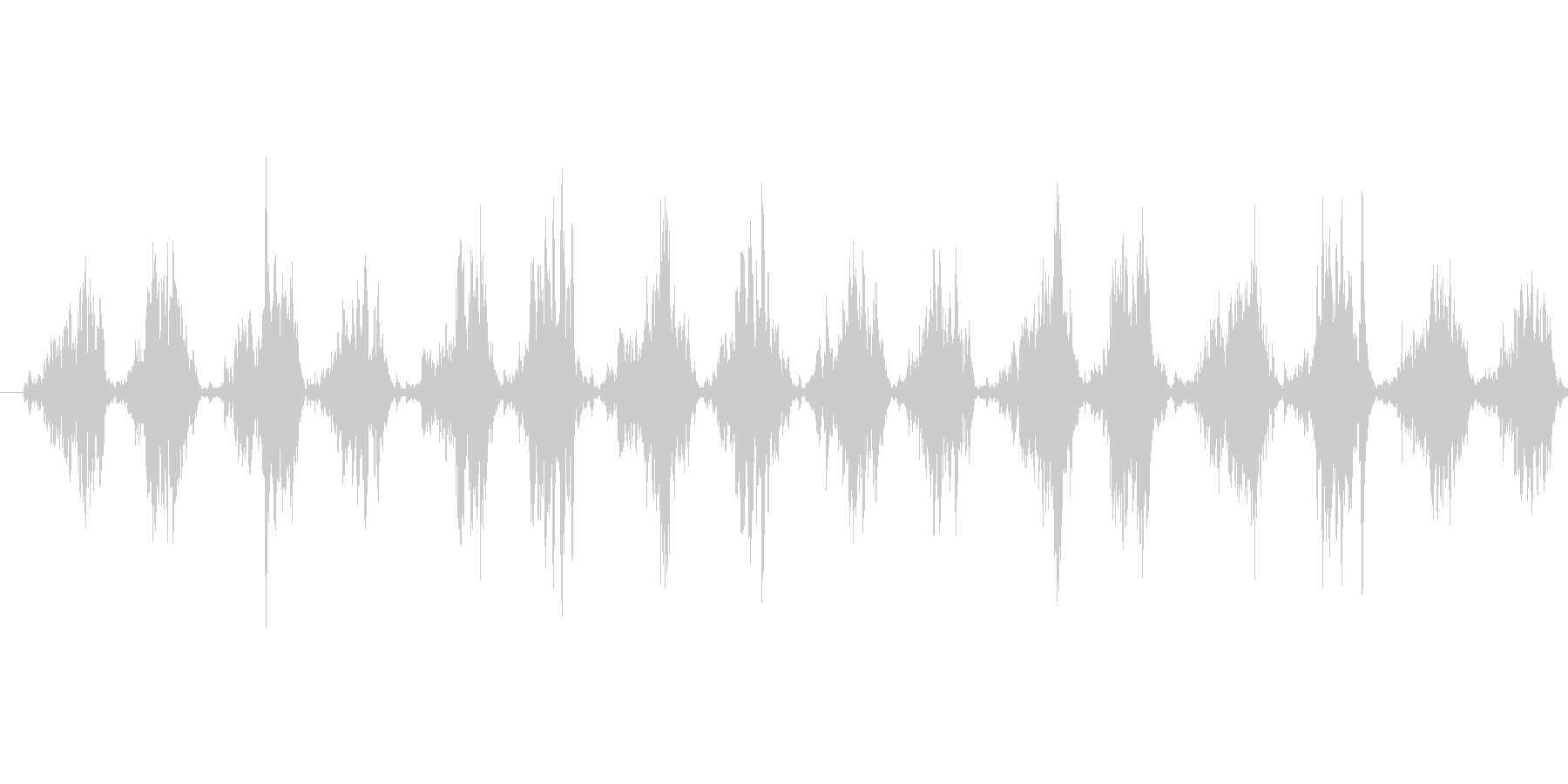 シャカシャカ...(歯ブラシ、磨く)の未再生の波形