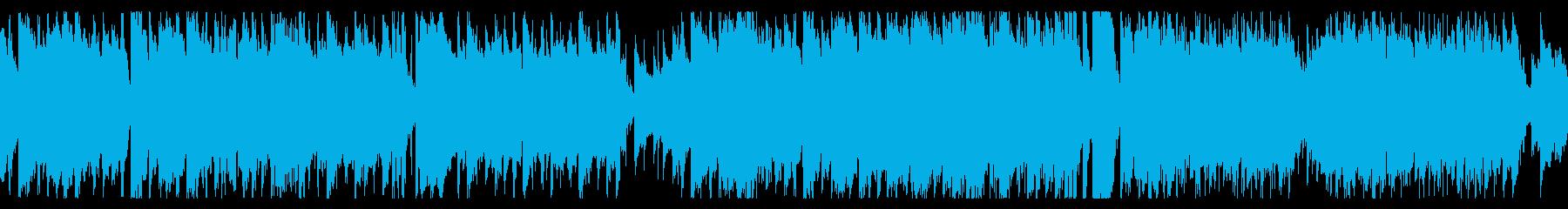 魔族の宴をイメージした怪しいワルツの再生済みの波形