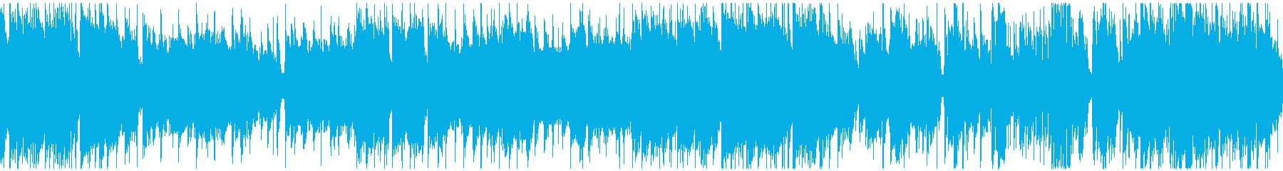 クールゆっくりモダンジャズ ※ループ版の再生済みの波形