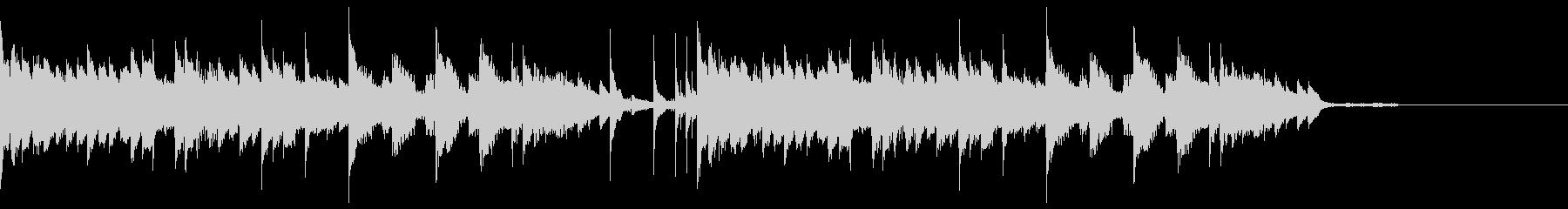 ピアノジングル7、クール、和風の未再生の波形