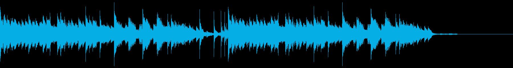 ピアノジングル7、クール、和風の再生済みの波形