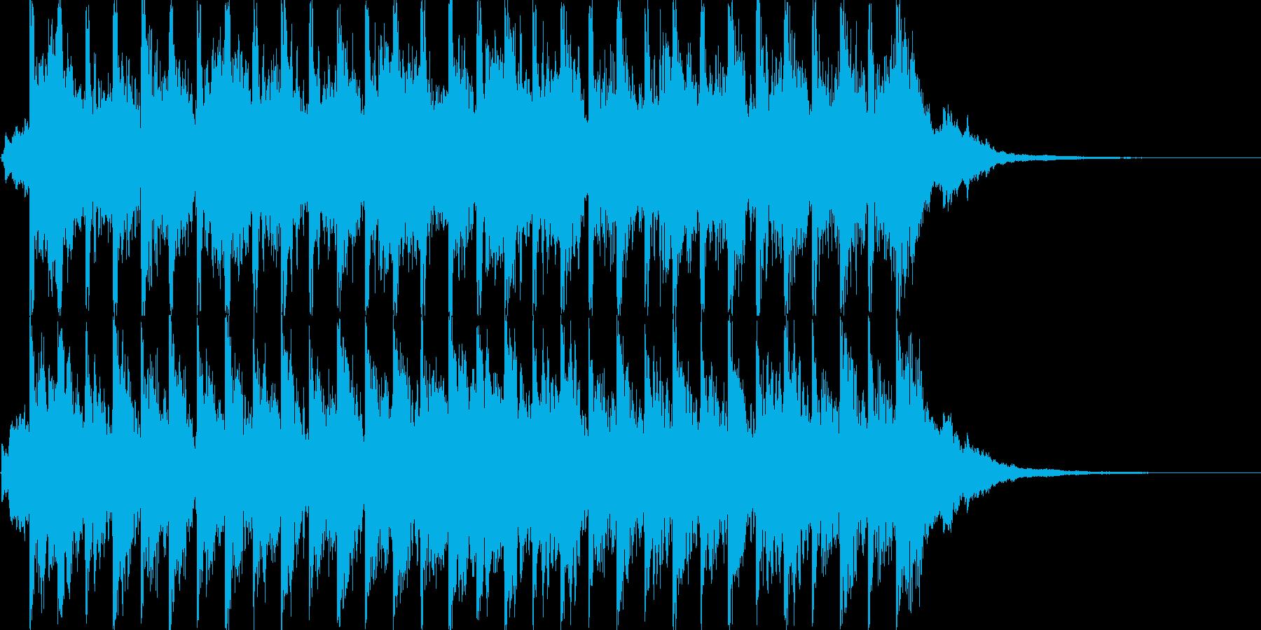 キラキラしたポップ BGMの再生済みの波形
