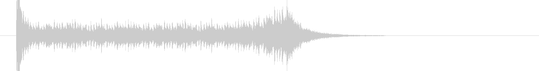 ティンパニロール 結果発表 タイプCの未再生の波形