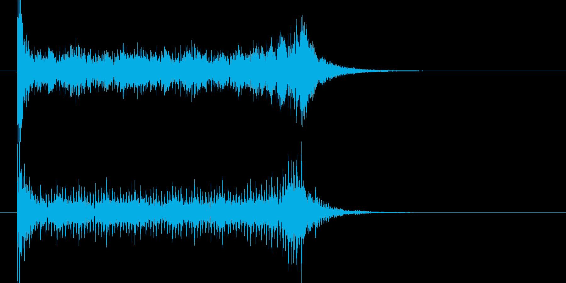ティンパニロール 結果発表 タイプCの再生済みの波形