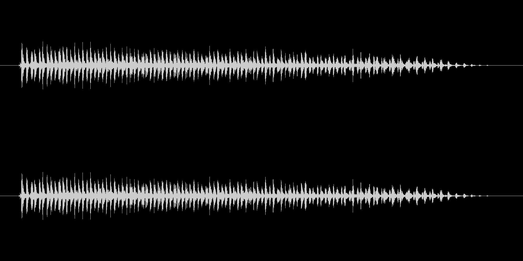 【ビブラスラップ01-3】の未再生の波形