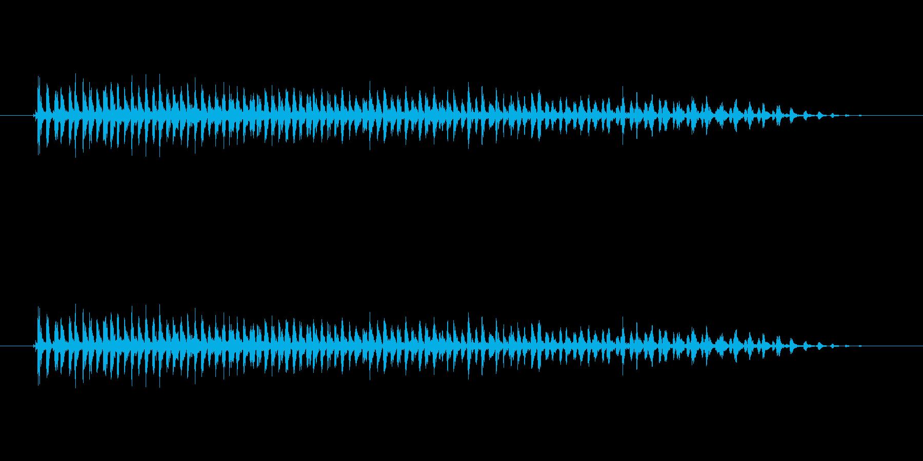 【ビブラスラップ01-3】の再生済みの波形