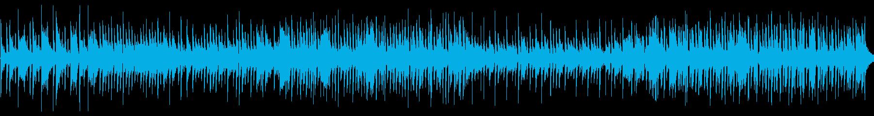キャッチーなメロディの再生済みの波形