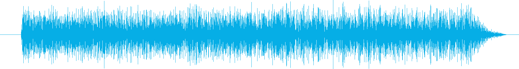 ガー (星人の声)の再生済みの波形