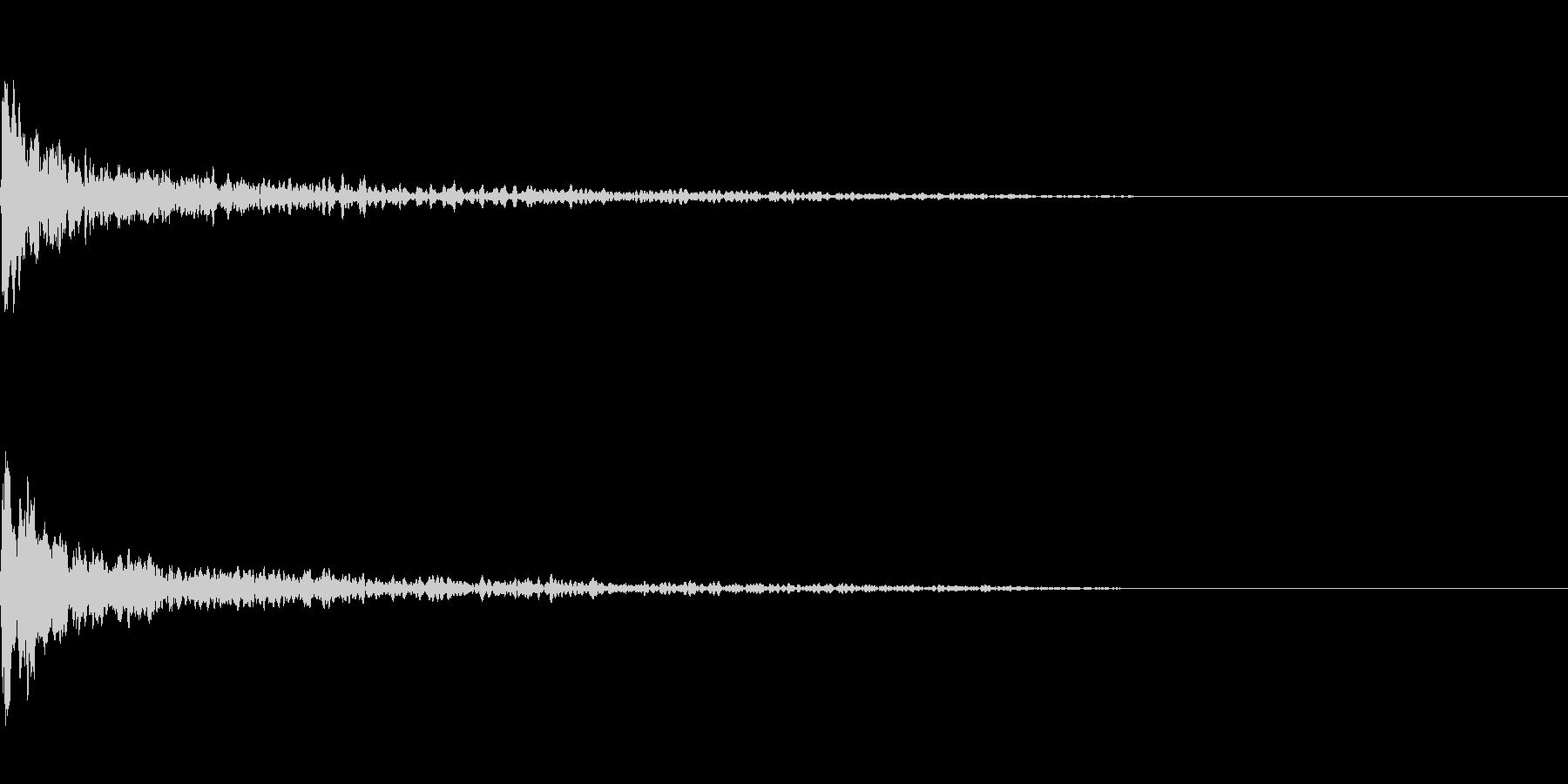 トーナルボタン4・始まりのロゴ・ブーンの未再生の波形