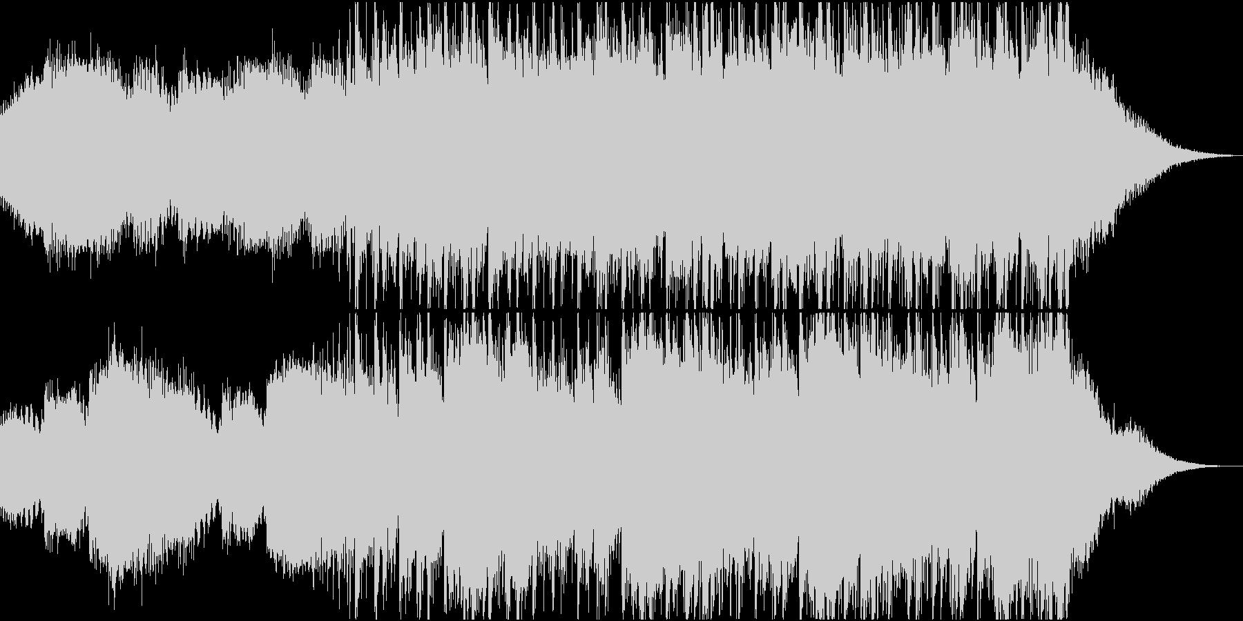 映像用の怪しい雰囲気のエレクトロニカの未再生の波形