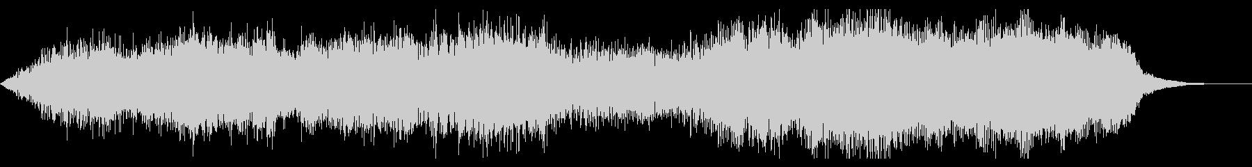 ダークでシネマチックなジングルの未再生の波形